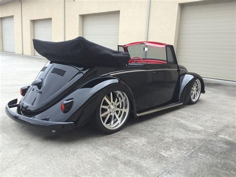volkswagen beetle modified black 1966 volkswagen beetle custom convertible barrett