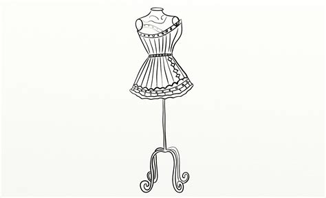 Mannequin Outline by Free Coloring Pages Of Mannequin Outline