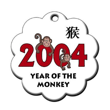 new year monkey information zodiac year of the monkey ornament 2004 mandys