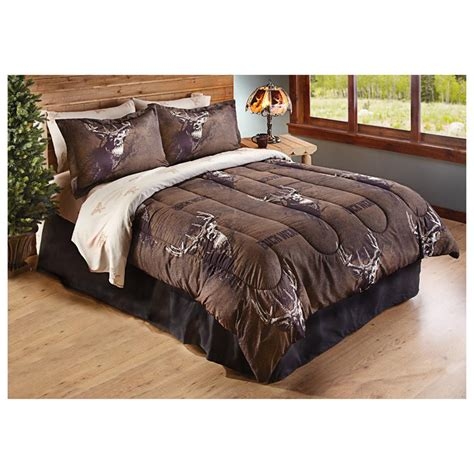hunting bedding buck wear trophy bedding sets 8 piece 299929