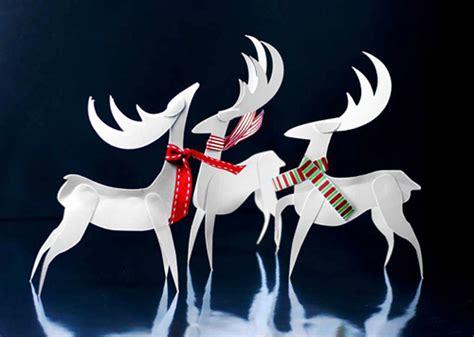 Reindeer Paper Crafts - paper reindeer ornament