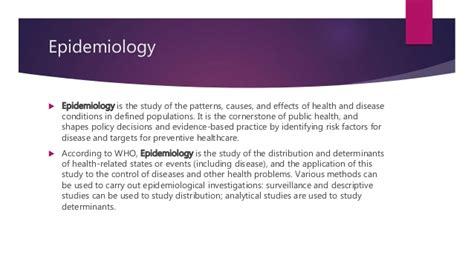 pattern analysis epidemiology taxonomy phylogeny epidemiology rupinder