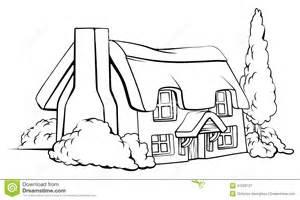 Free Cottage Floor Plans farm house cottage stock vector image 47229727