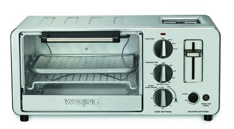 Toaster Oven With Toaster Slots On Top Waring Wto150 Review A Well Made Toaster Combo