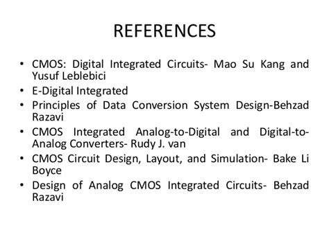 cmos digital integrated circuits kang seminar fabrication and characteristics of cmos