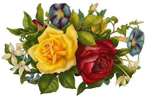 printable vintage flowers free vintage digital stamps free vintage printable