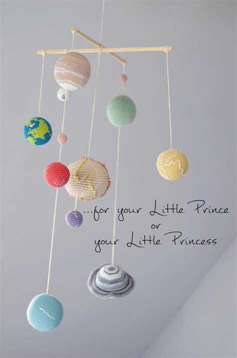 Solar System Crib Mobile by Pastel Solar System Planets Mobile Pastel Baby Mobile