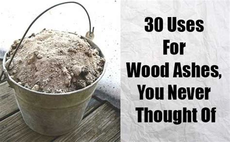 Fireplace Ashes In Compost by 30 Uses For Wood Ashes Wood Ash Can Be Useful In Home