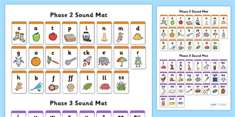 phase 3 cursive sound mat combined phase 2 3 sound mats sound mat letters and