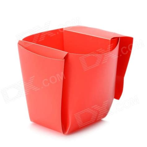 Four Cups Paper Folding - portable diy folding cup free shipping dealextreme