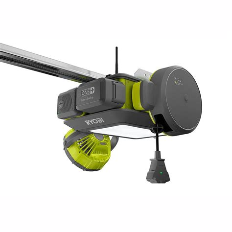 The Ryobi Modular Garage Door Opener Garagespot Outside Garage Door Opener