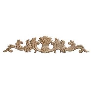 ornamental mouldings embossed acanthus wood ornament 3 1 2