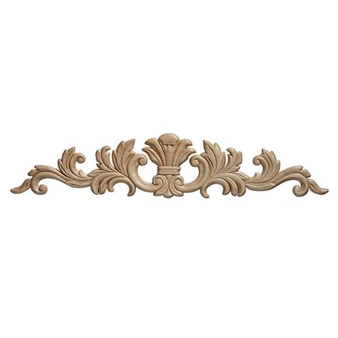 wooden scrolls for cabinets ornamental mouldings embossed acanthus wood ornament 3 1 2