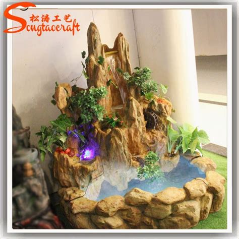 water decorations home resin indoor fountains and waterfalls waterscape