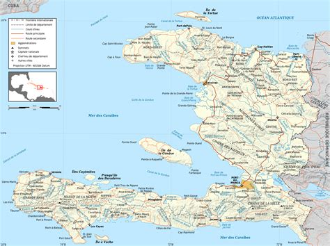 printable map haiti large detailed road and political map of haiti haiti