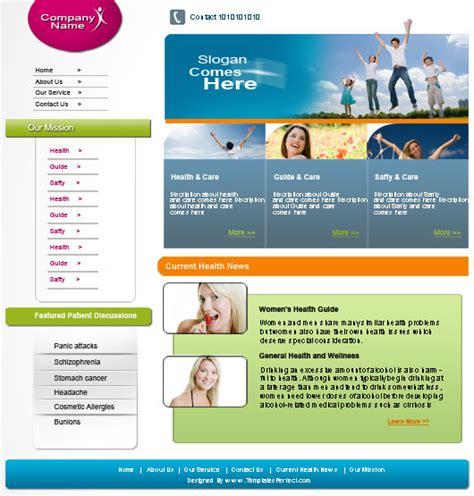 Free Family Health Psd Web Template Templates Perfect Free Family Website Templates