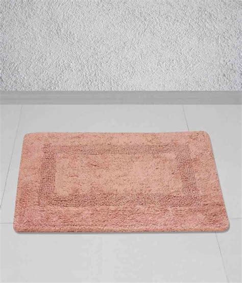 story home brown cotton floor mat buy story home