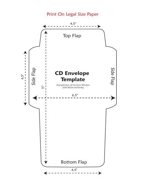 printable dvd envelope cd envelope template 5 free templates in pdf word