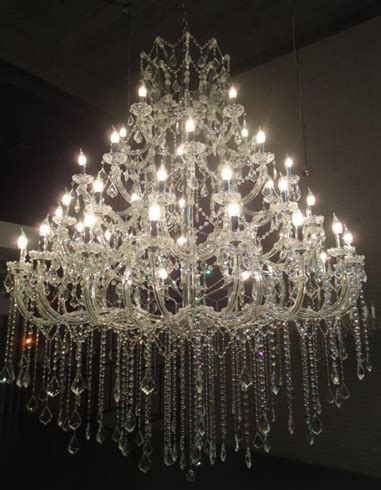 Chandelier Outlet Lustre Grande De Cristais