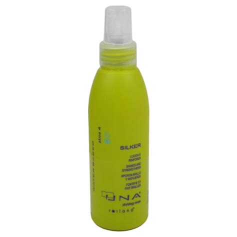 una hair products from italy hair styling serums una silker 150ml