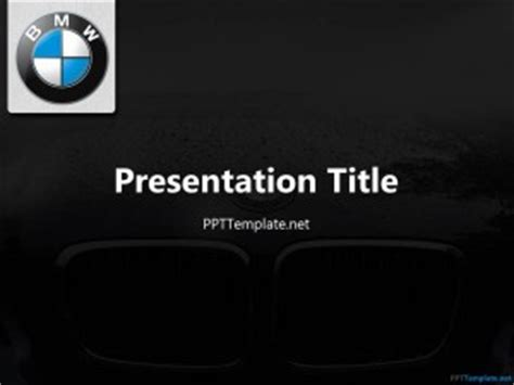 powerpoint design car free bmw ppt template