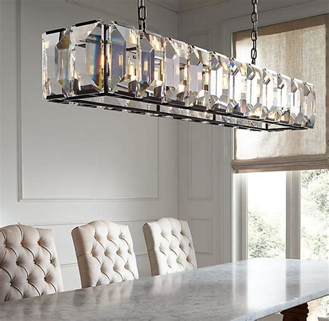 Rectangular Dining Room Light Fixtures Best 25 Rectangular Chandelier Ideas On Rectangular Dining Room Light Rectangular