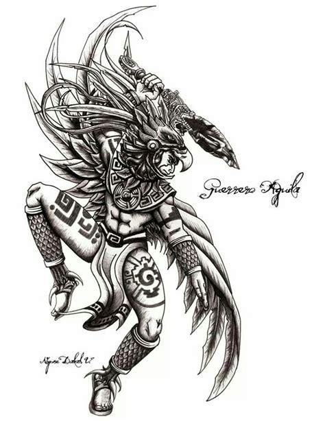 imagenes guerreros mayas guerrero 225 guila cultura azteca y maya pinterest