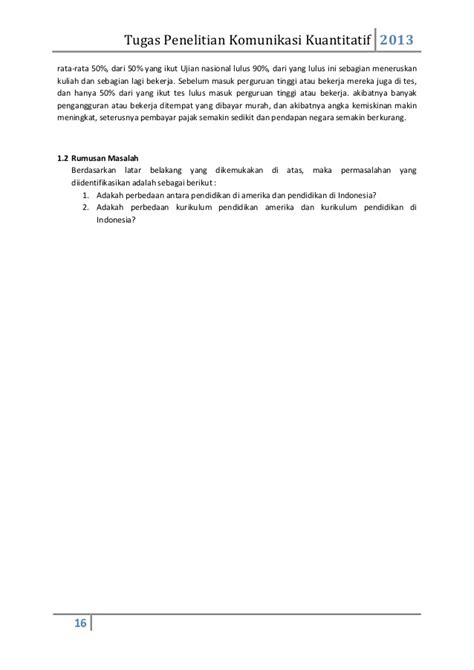 membuat rumusan masalah kuantitatif strategi penyelesaian tugas membuat rumusan masalah 3 kasus