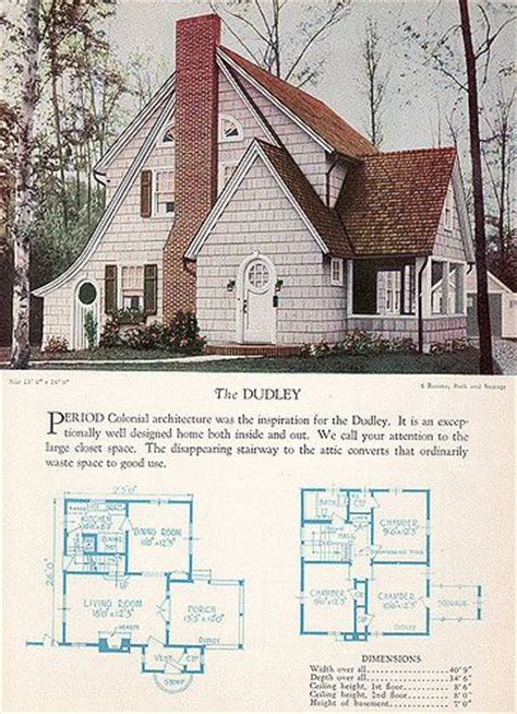 17 Best Images About Sears Other Catalog Houses On Antique House Plans By Dudley Newton