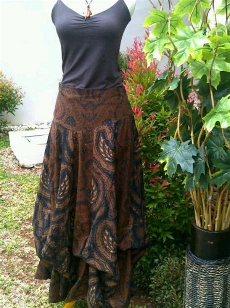 Rok Batik Modern 362aew rok tumpuk batik ideas