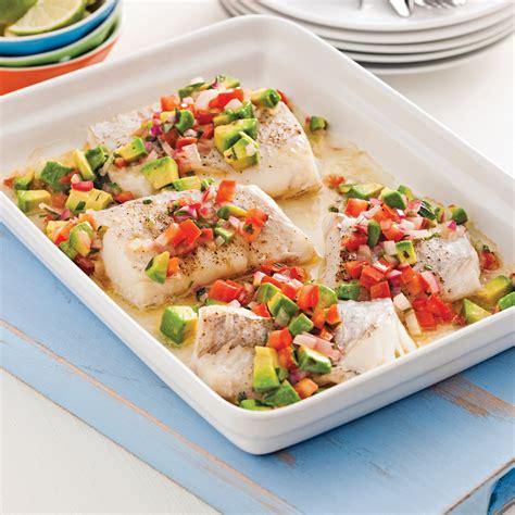 cuisiner poisson blanc poisson 224 la salsa ti 232 de de tomates et avocat recettes