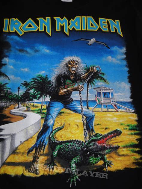iron maiden time florida event shirt