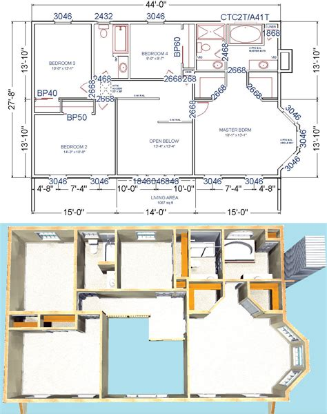 modular homes with basement floor plans bedford modular colonial house