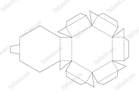 templates for paper gift boxes download template craft robo vinyl