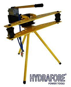 compressed air driven hydraulic pipe bender 1 2 quot 2 quot w 2q ebay