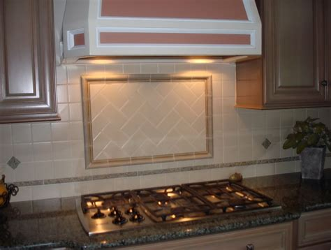 Glass Kitchen Backsplash Ideas Ceramic Tile Backsplash Kitchen Ideas Home Design Ideas