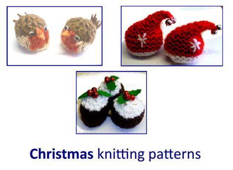 free knitting pattern christmas robin xmas knitting patterns knitting bee