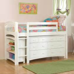 bunk beds with storage bolton low loft bed with storage