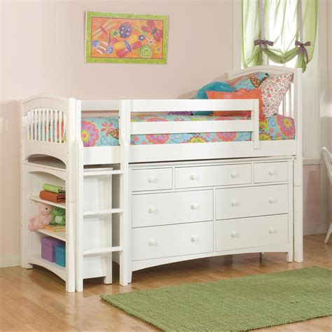 kids loft bed bolton windsor low loft bed with storage