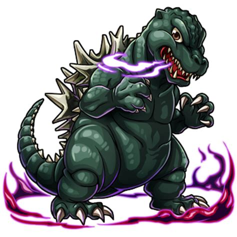 monster tattoo png image godzilla x monster strike godzilla showa png