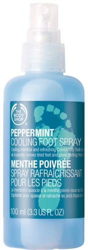 Jfa Peppermint Foot Spray the shop peppermint cooling foot spray reviews beautyheaven