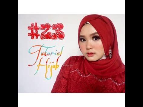 youtube tutorial hijab kondangan 23 tutorial hijab segi empat paris wisuda pesta kondangan