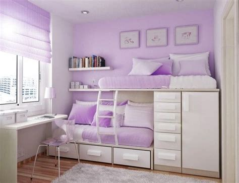 Purple Bunk Bed Bathrooms Cozy Purple Pink Bedroom Decoration With Comfortable Sleeping Bed And A Stylish Look