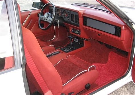 1985 Mustang Gt Interior by Oxford White 1985 Ford Mustang Gt Hatchback