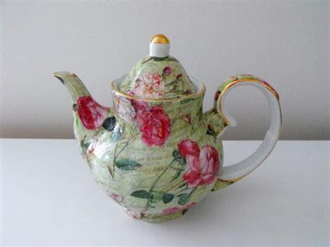 vintage royal danube shabby chic tea pot vintage chic