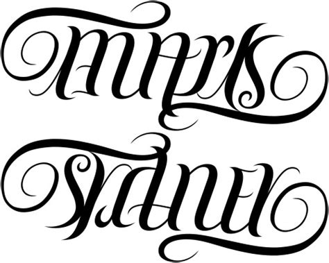 tattoo name generator upside down quot mark quot quot sydney quot ambigram a custom ambigram of the