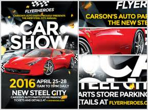 Car Show Flyer Template car show flyer template flyerheroes
