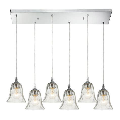 Multi Pendant Light Fixture Elk Lighting 46010 6rc Darien 6 Light Multi Pendant Ceiling Fixture