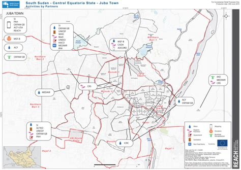printable map june 2015 south sudan central equatoria state juba town