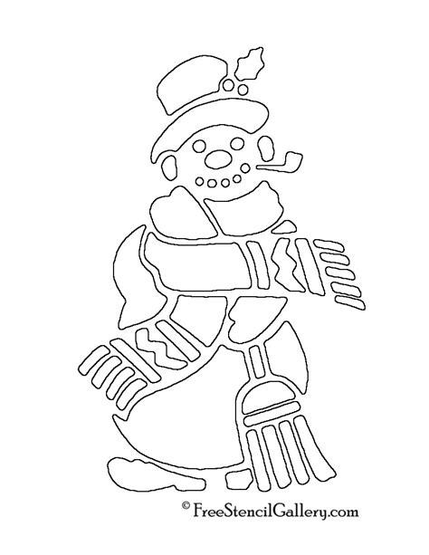 printable snowman stencils snowman stencils to print images